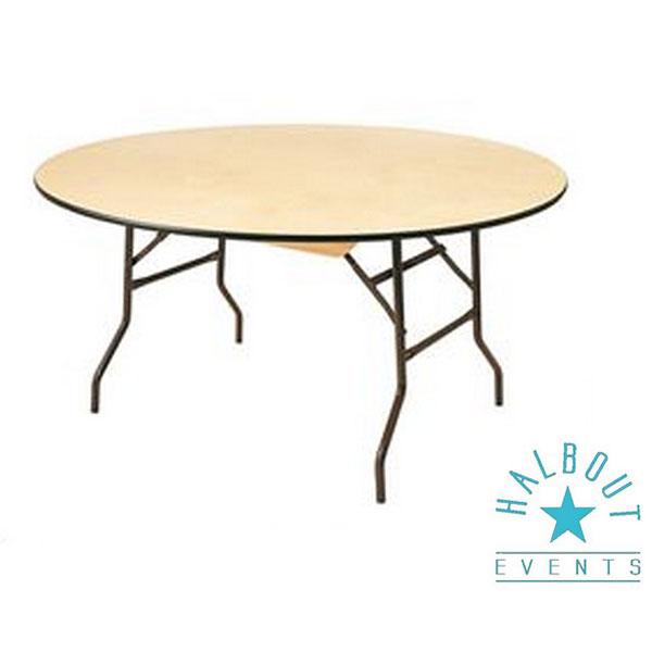 table ronde diam tre 150cm halbout events. Black Bedroom Furniture Sets. Home Design Ideas